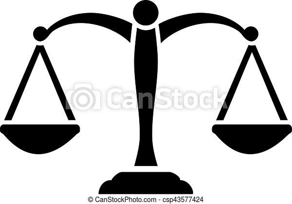 échelle, justice - csp43577424