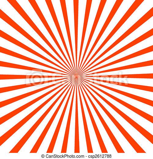 éclat, rouges, illustration - csp2612788