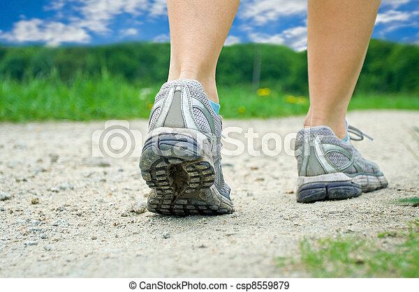 été, marche, exercice - csp8559879