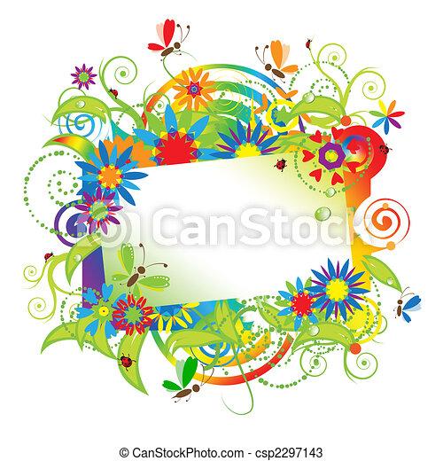 été, rêves, carte voeux - csp2297143