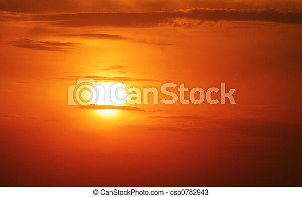 été, soleil - csp0782943