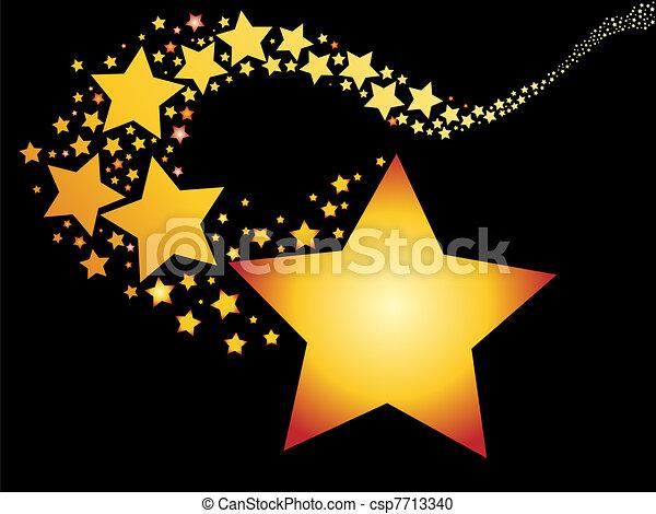 étoile filante - csp7713340