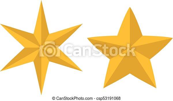 étoile, noël, icône - csp53191068