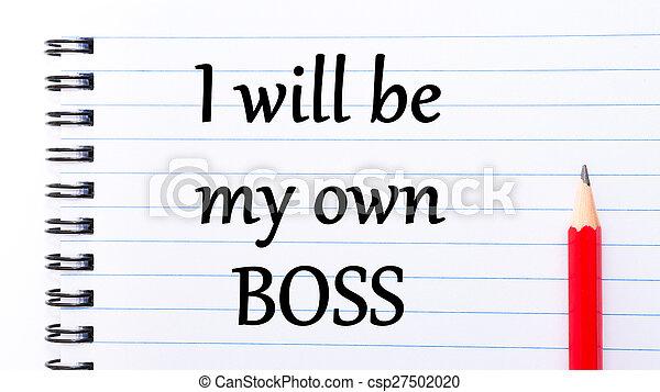 être, propre, texte, patron, volonté, écrit, cahier, mon, page - csp27502020