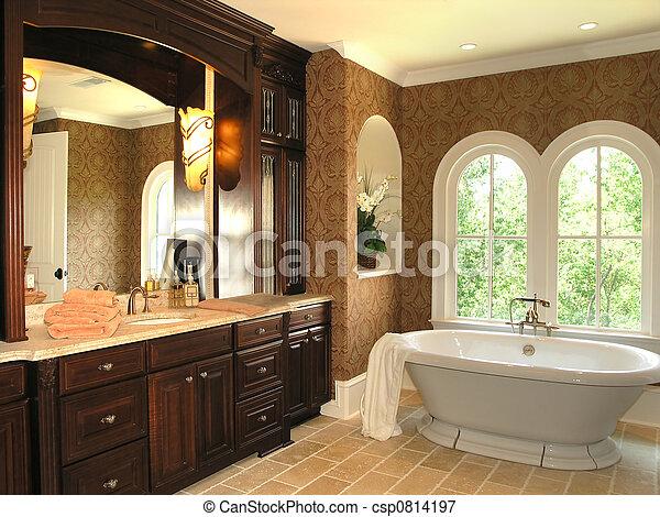 5, salle bains, -, luxe, 3 - csp0814197