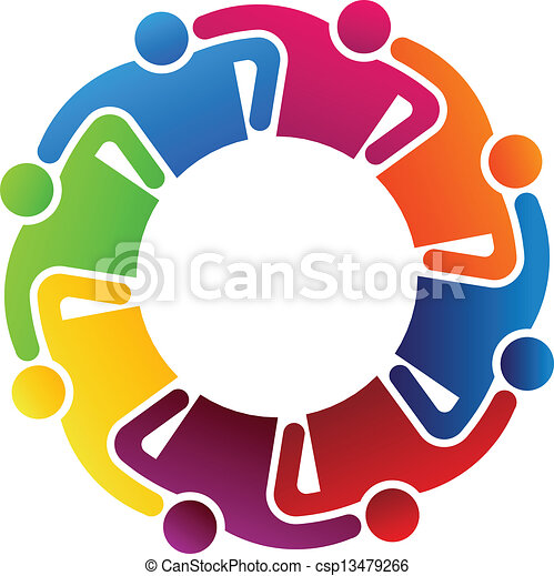 8, collaboration, étreindre - csp13479266