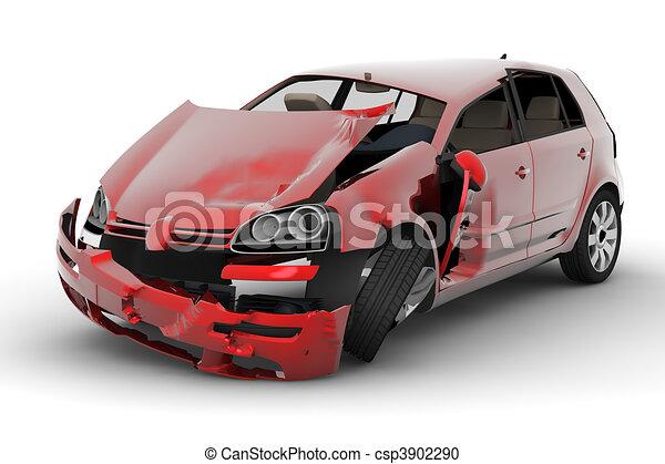 accident voiture - csp3902290