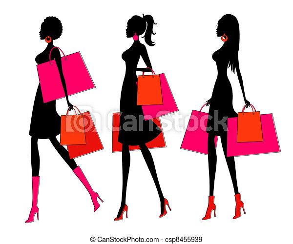 achats, filles - csp8455939