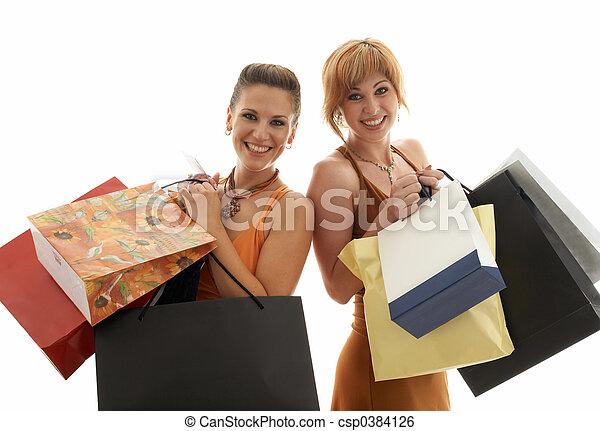 achats, filles - csp0384126