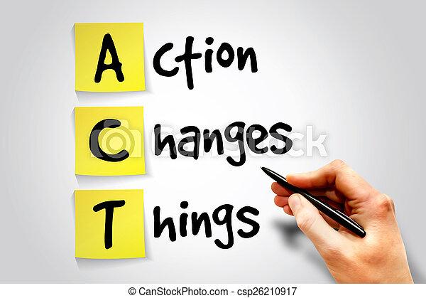 action, choses, changements - csp26210917