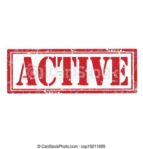 active-stamp - csp19211689
