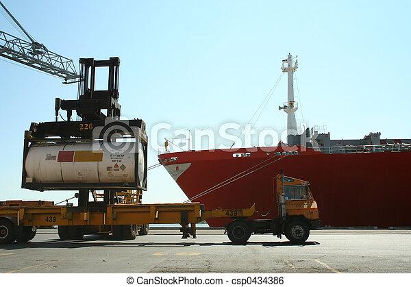 activités, port - csp0434386
