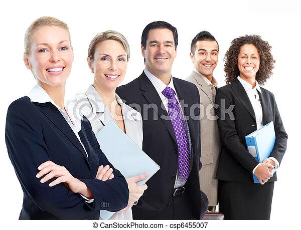 affaires gens, équipe - csp6455007