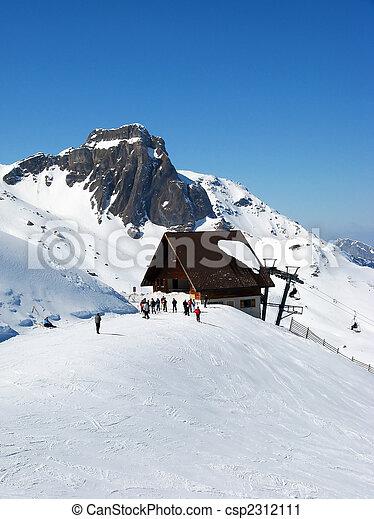 alpes suisses, ski - csp2312111