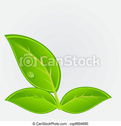 ambiant, vecteur, plant., illustration, icône - csp8894690