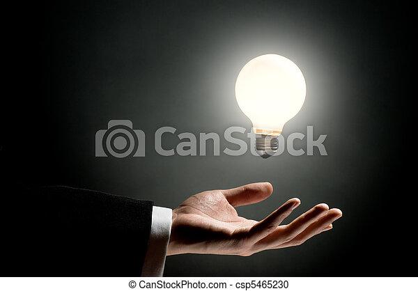 ampoule, éclairé - csp5465230