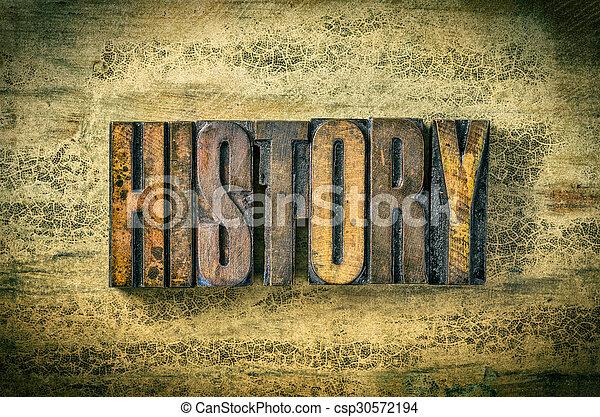 antiquité, bois bloque, letterpress, -, impression, type, histoire - csp30572194