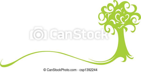 arbre vert - csp1392244