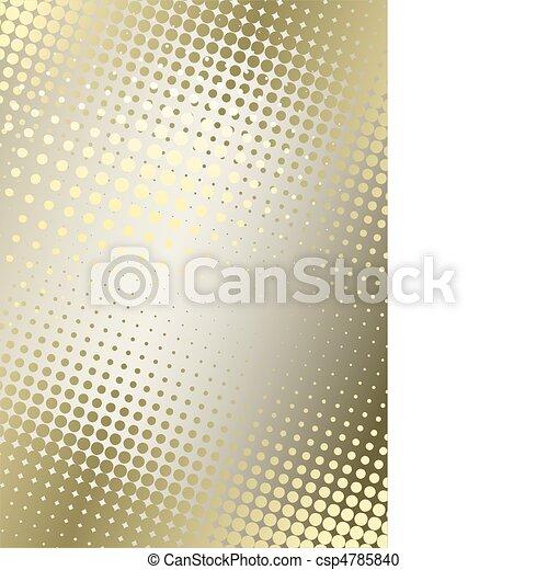 arrière-plan doré, affiche - csp4785840