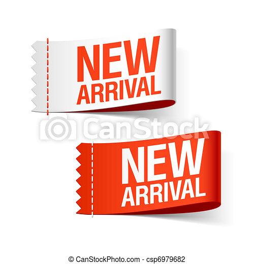 arrivée, nouveau, rubans - csp6979682