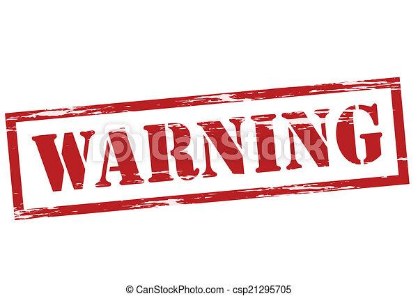 avertissement - csp21295705