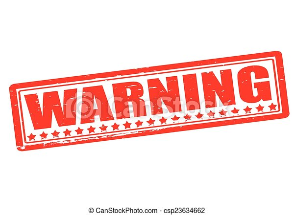 avertissement - csp23634662