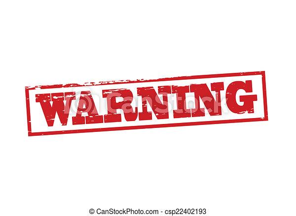 avertissement - csp22402193