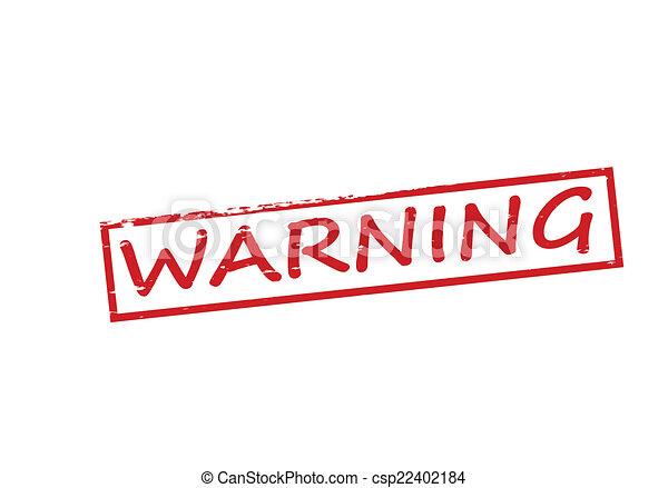 avertissement - csp22402184