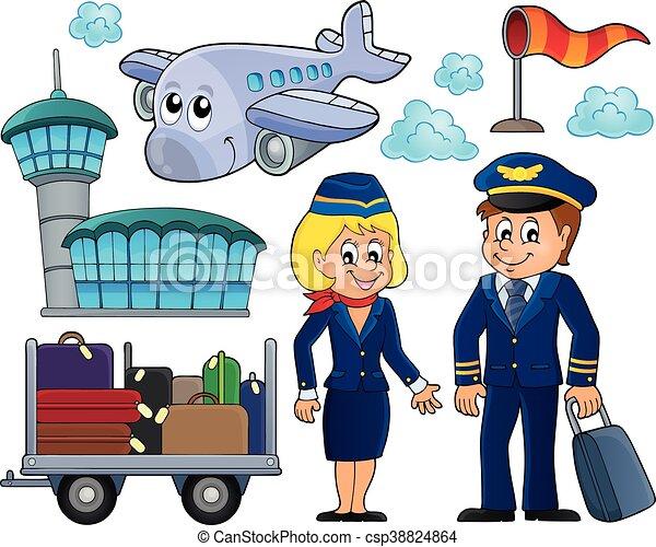 aviation, thématique - csp38824864