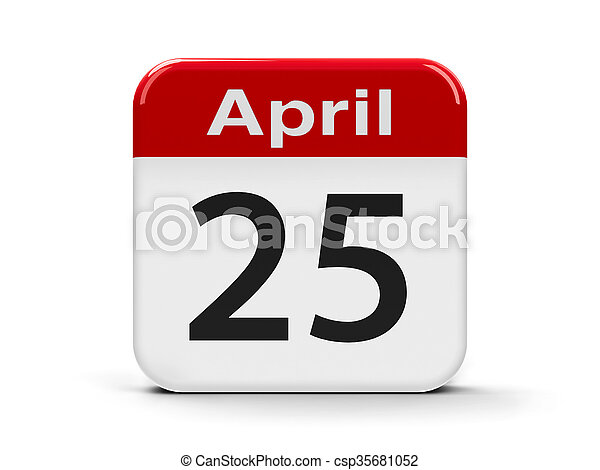 avril, 25e - csp35681052