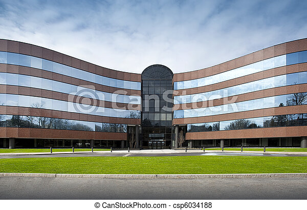bâtiment, bureau - csp6034188