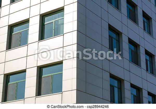 bâtiment, bureau - csp28944246
