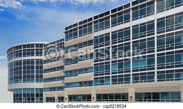 bâtiment, bureau - csp5218534