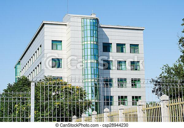 bâtiment, bureau - csp28944230