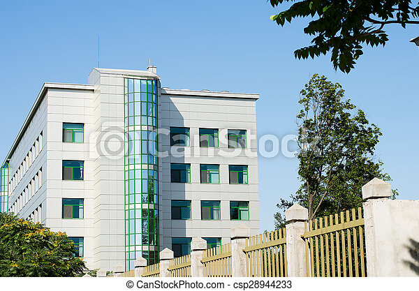 bâtiment, bureau - csp28944233