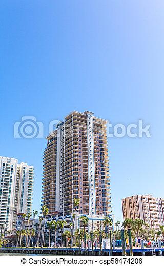 bâtiment, copropriété, côtier - csp58474206