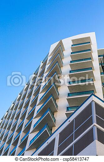 bâtiment, copropriété, côtier - csp58413747