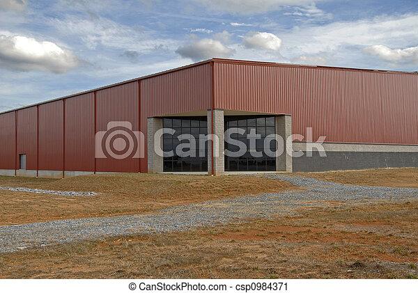 bâtiment, industriel - csp0984371