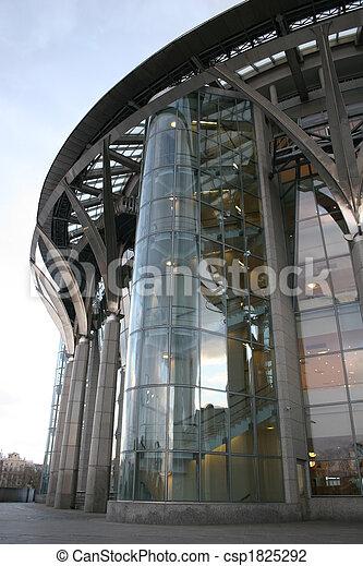bâtiment, urbain, verre - csp1825292