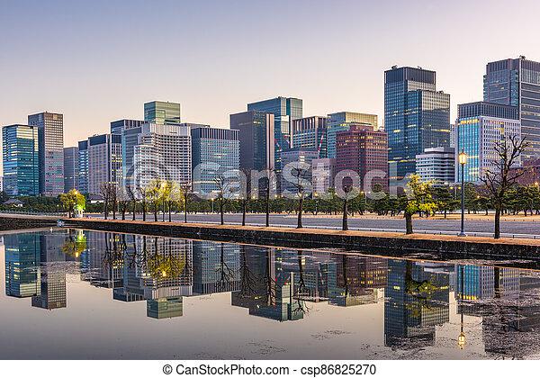 bâtiments, bureau, moderne - csp86825270