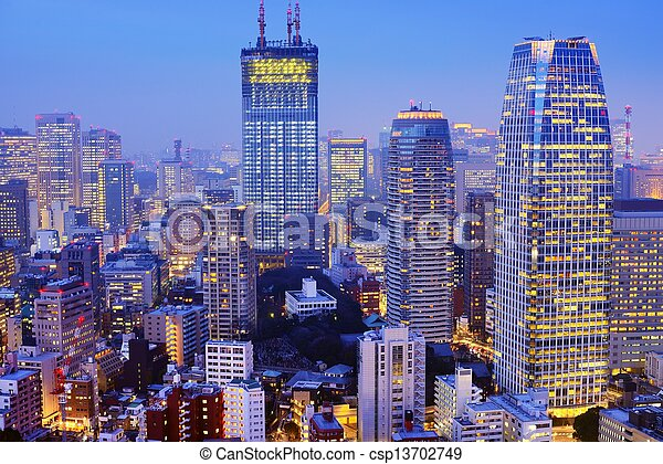 bâtiments, bureau - csp13702749
