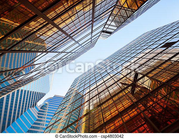 bâtiments, bureau - csp4803042