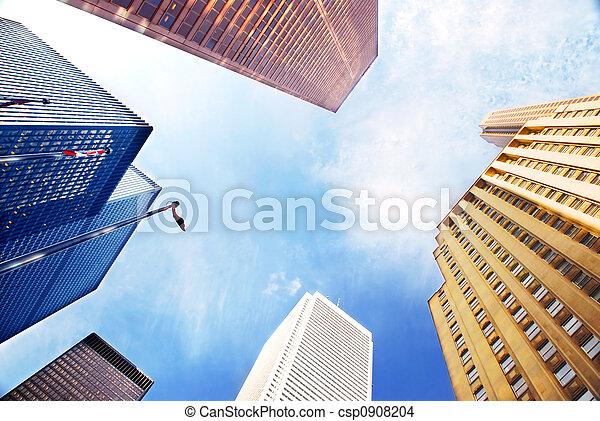 bâtiments, constitué - csp0908204