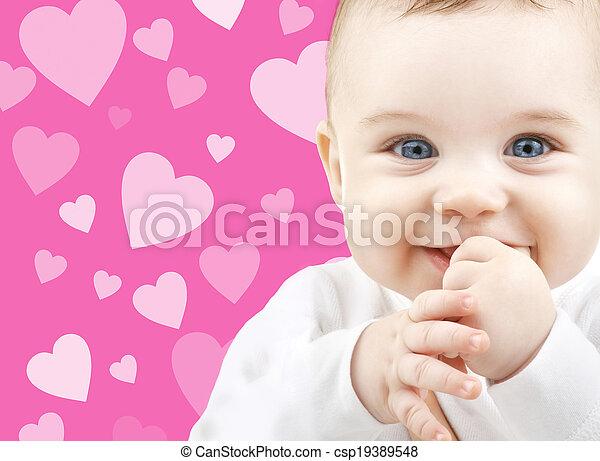 bébé, adorable - csp19389548