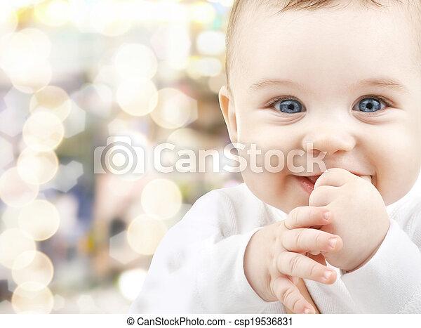 bébé, adorable - csp19536831