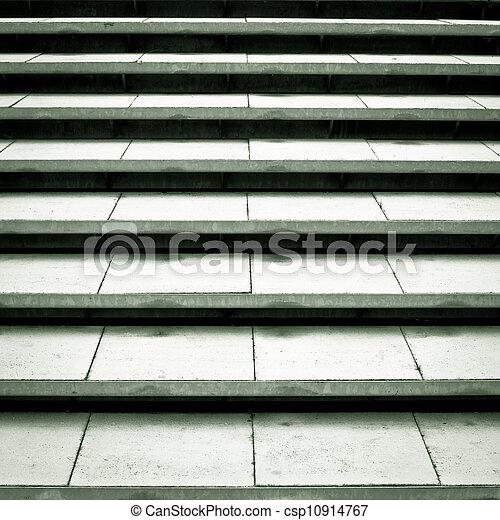 béton, étapes - csp10914767