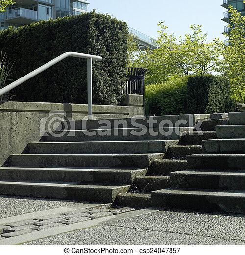 béton, étapes - csp24047857