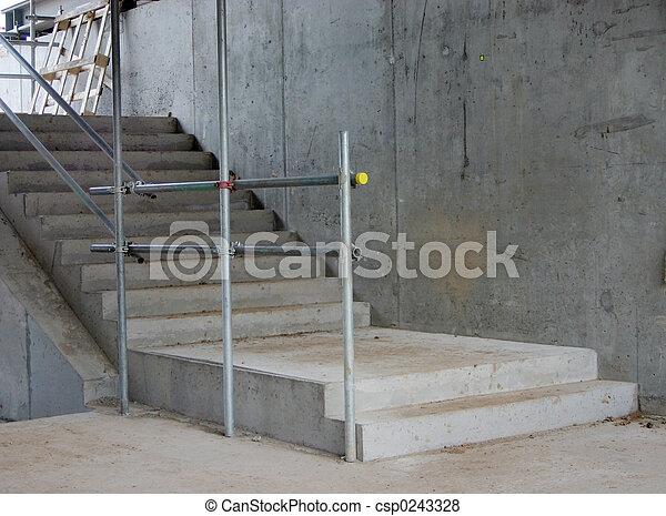 béton, étapes - csp0243328