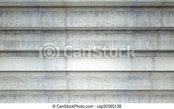 béton, étapes - csp30365138