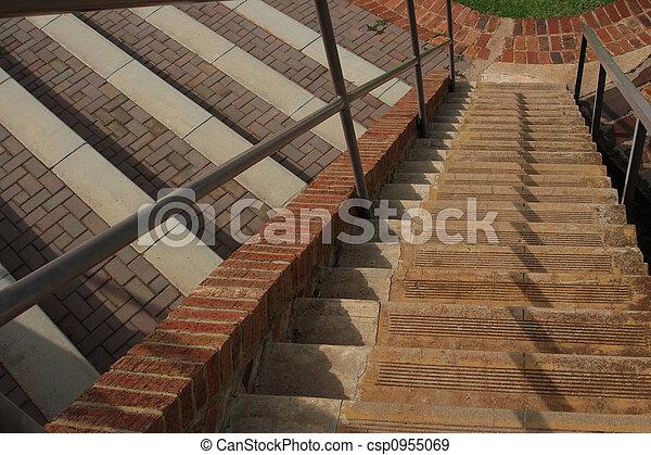 béton, steps. - csp0955069